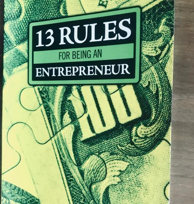 Rules For Being An Entrepreneur